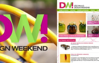 """From 15 to 18 of August, São Paulo will receive a major design festival, with several independent events covering art, architecture, urbanism, decoration, social inclusion, technological innovation and more."" What to see at São Paulo Design Weekend What to see at São Paulo Design Weekend 1spdw 324x208"