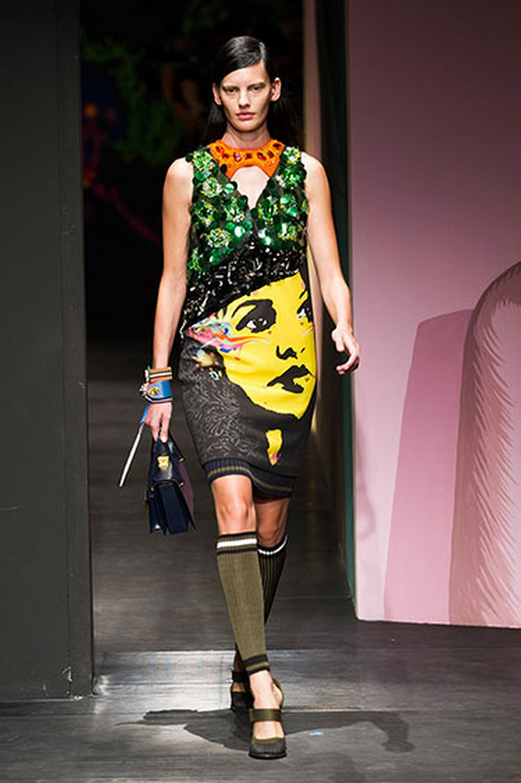 Prada Show Milan Fashion Week