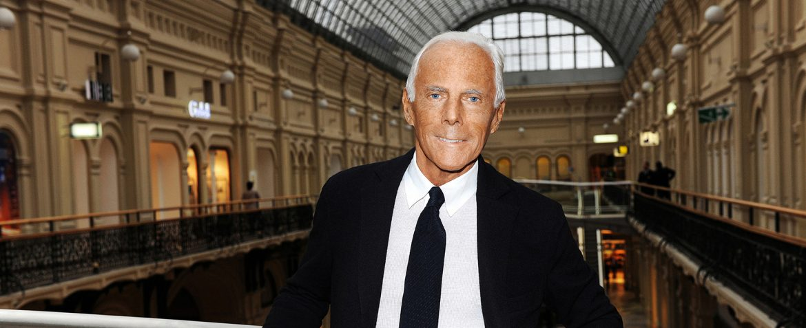 """""""In this short interview, Mr. Armani sheds some light on his feelings about the brand succession and about his perspectives on current fashion and his critics. During a """"short"""" lunch (the designer left soon after arriving - """"I'm sorry about lunch, but please stay for something to eat.""""), and a guided tour through the private home, some important (but not new) ideas were discussed."""""""