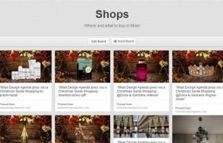"""Milan Design Agenda, The Best of Shops 2013-Pinterest Board"""