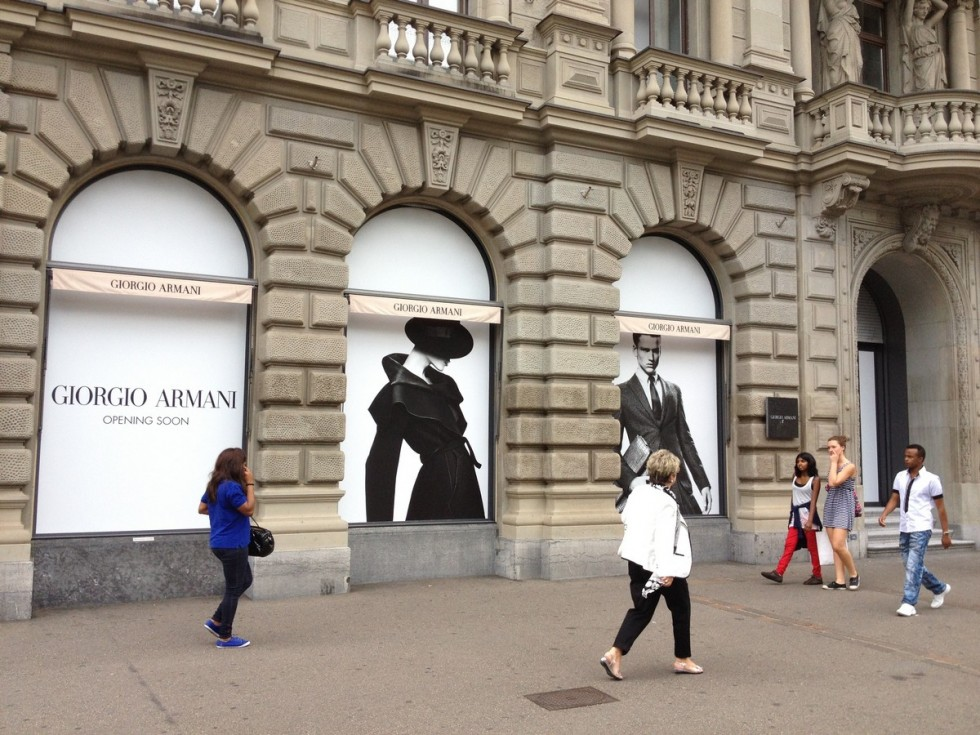 """New openings in Milan Luxury Avenues-Giorgio Armani Vittorio Emanuele Store"" New openings in Milan Luxury Avenues New openings in Milan Luxury Avenues New openings in Milan Luxury Avenues Giorgio Armani Vittorio Emanuele Store e1389789392120"