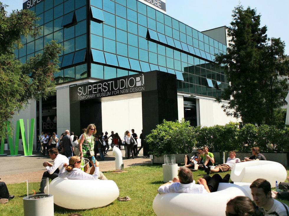 """Superstudio Temporary Museum for new design"""