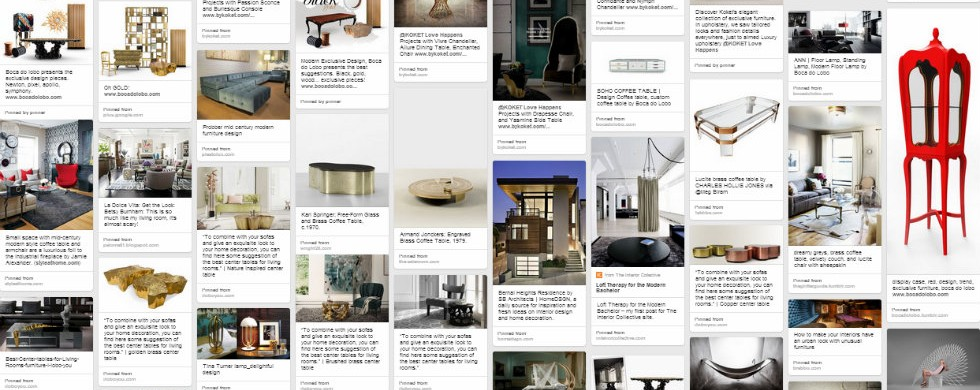 Interior Decoration for your Milan Appartment: 5 Pinterest boards to see