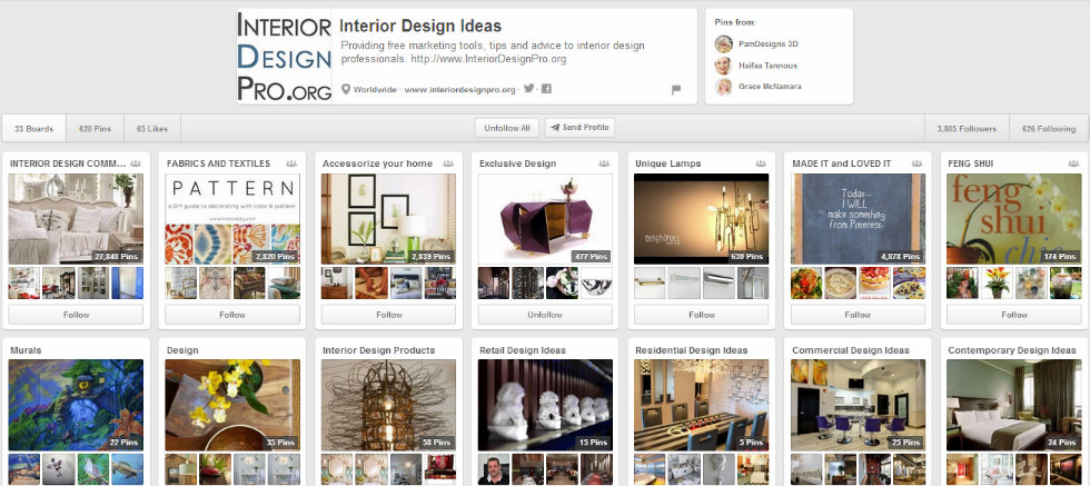 """""""Interior Decoration for your Milan Appartment 5 Pinterest boards to see-Interior Design Ideas"""""""