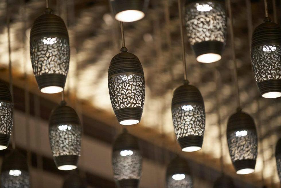 """Milan City Guide The Luxury Mandarin Oriental Hotel will open in 2015 !-Suspension light fixtures"""