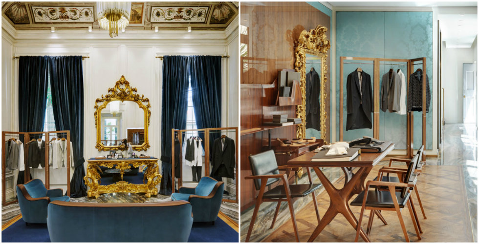 """""""Neoclassicism and Luxury displayed in the new Dolce&Gabbana Milan Store"""""""