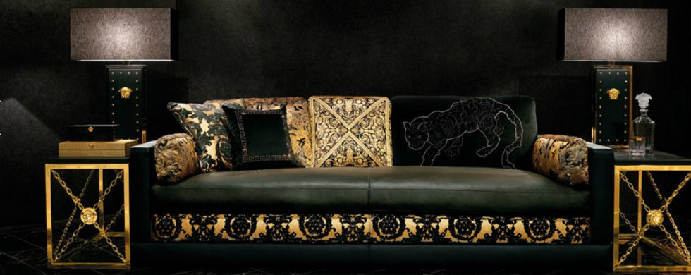to decorate your Milan appartment with Versace Home Decor?
