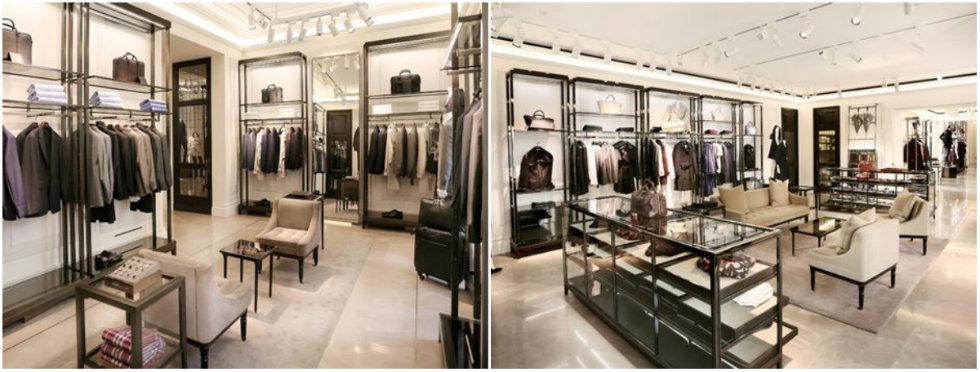 In Milan's luxury avenue heart Burberry reopened at Via Montenapoleone