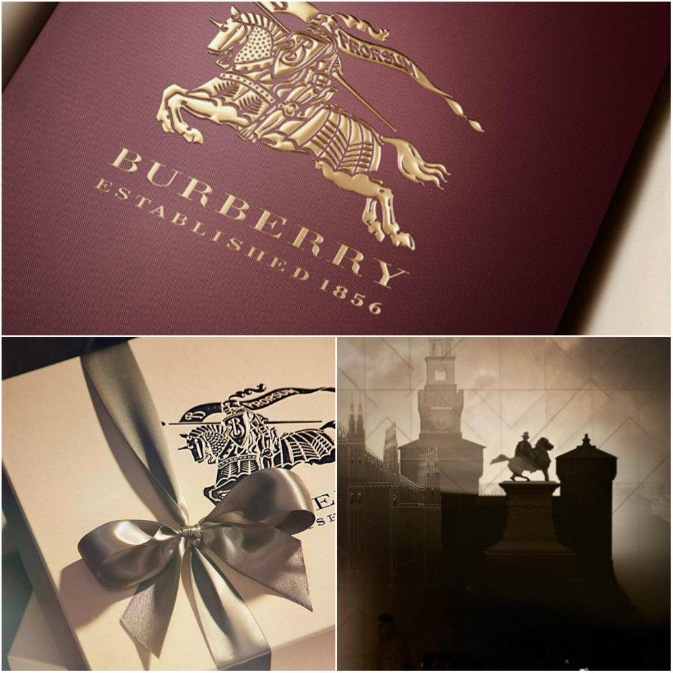 """In Milan's luxury avenue heart Burberry reopened at Via Montenapoleone """
