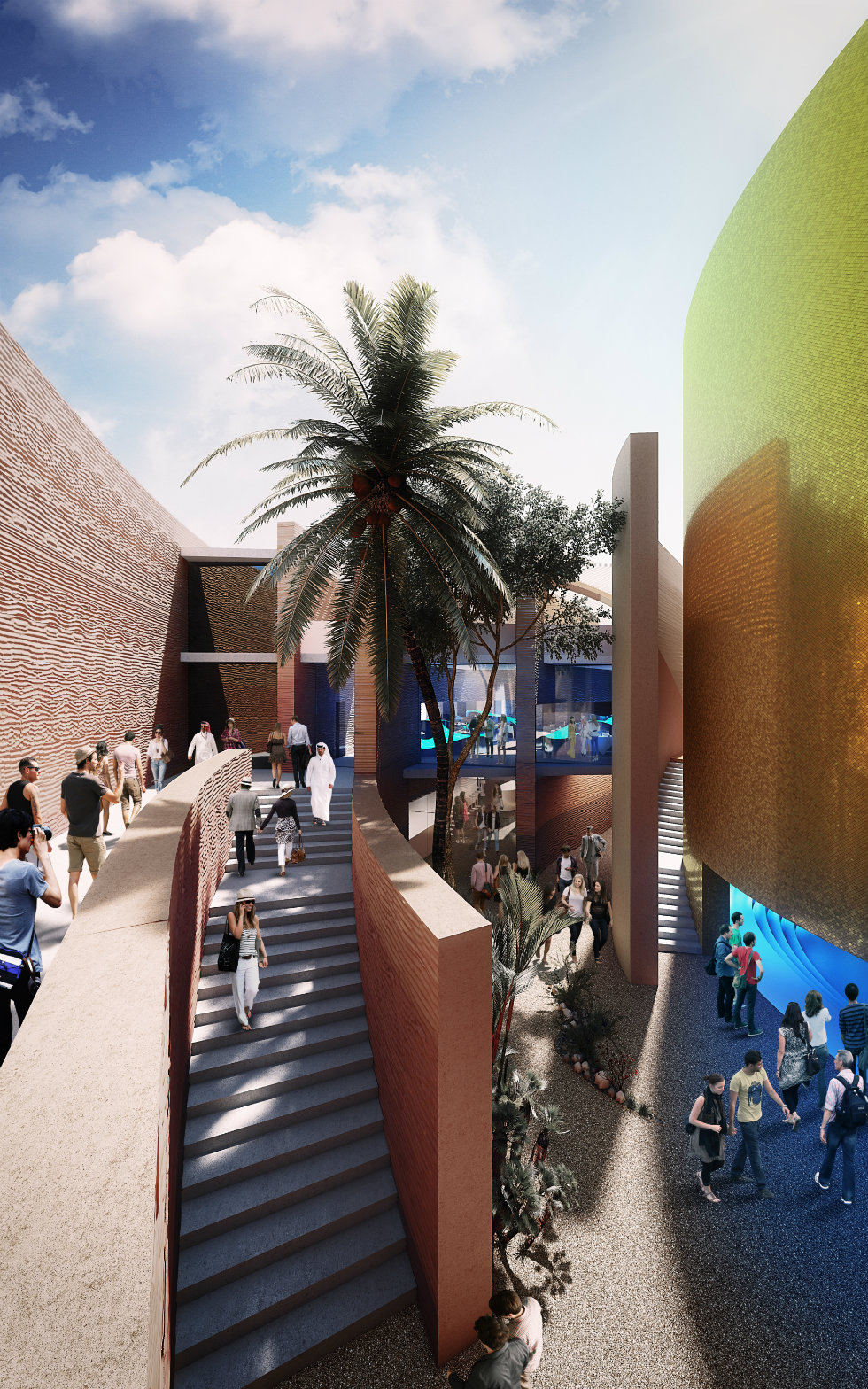 Milan Expo 2015 Foster and Partners designs UAE Pavillion