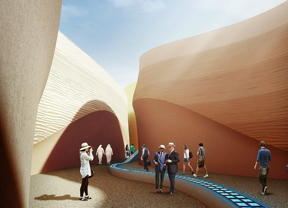 """""""Milan Expo 2015 Foster and Partners designs UAE Pavillion"""""""