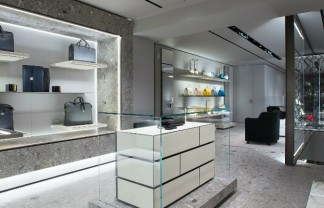 """Milan Fashion brands rising at New York Valextra at Madison Avenue"""