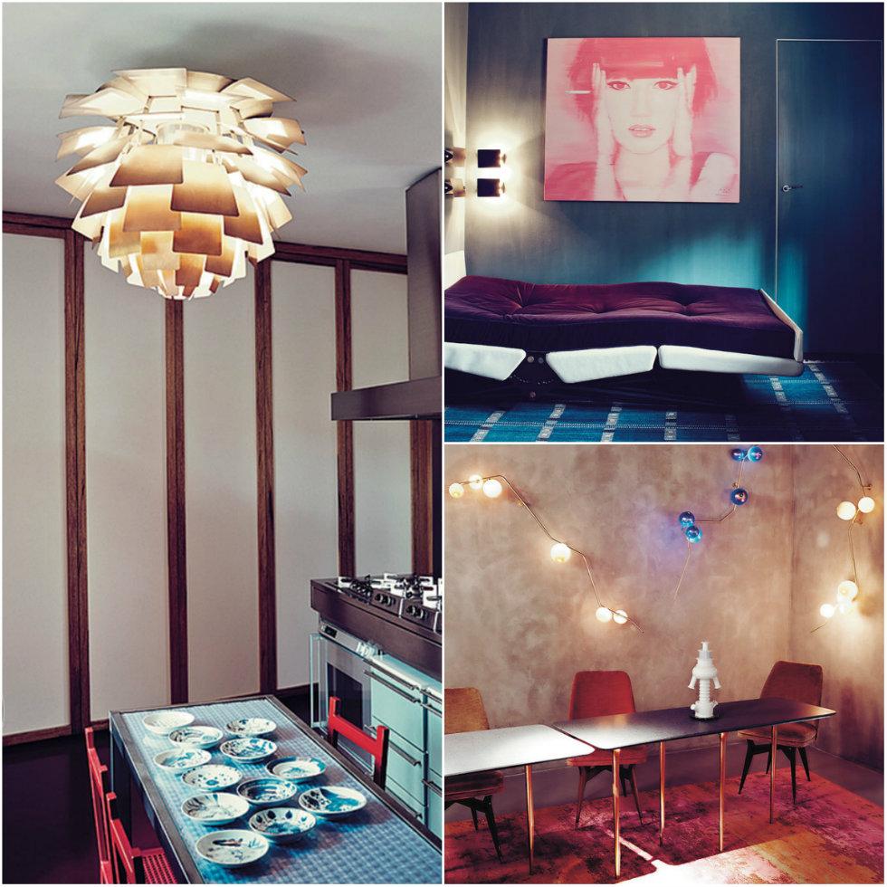 """Milan House Interior Design tour Nina Yashar, an unusual modernism """