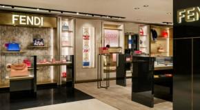 """""""Fendi Milan Boutique at La Rinascente a newly renovated corner store (1)"""""""