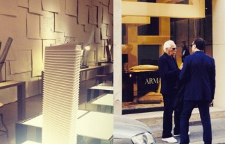 Exclusive Milan Design Week 2015 behind the scenes with Armani Casa