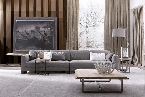 Modular sofa / contemporary / indoor