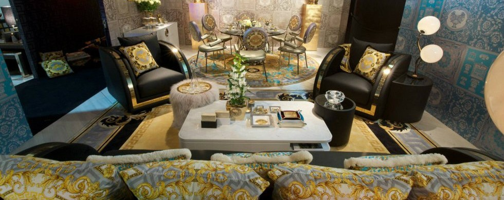 Milan Design Week 2015: furniture is the new fashion milan design week 2015 Milan Design Week 2015: furniture is the new fashion Milan Design Week 2015 furniture is the new fashion Versace Home Fashion Interiors3 980x390