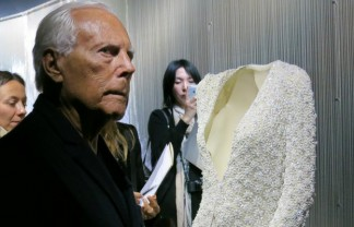 Armani Silos-Celebration of 40 years of the famous fashion designer