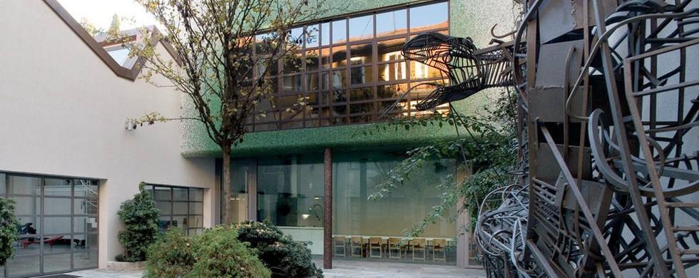 Italian Interior Designers Homes: Fabio Novembre Home-studio in Milan