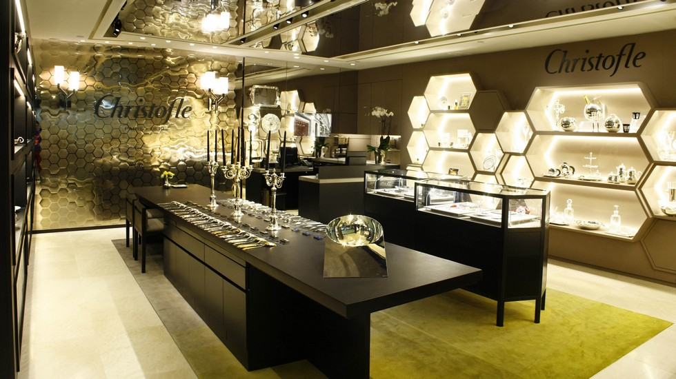 Milan Design Boutiques Christofle reopens at Corso Venezia (5) Milan Design  Boutiques: Christofle