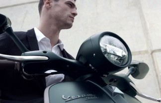Milan Design News: Giorgio Armani collaborates with Piaggio on the NEW Vespa 946