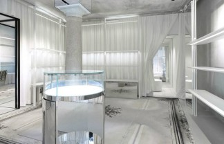 Milan Fashion Boutiques: Maison Margiela draws back the curtain