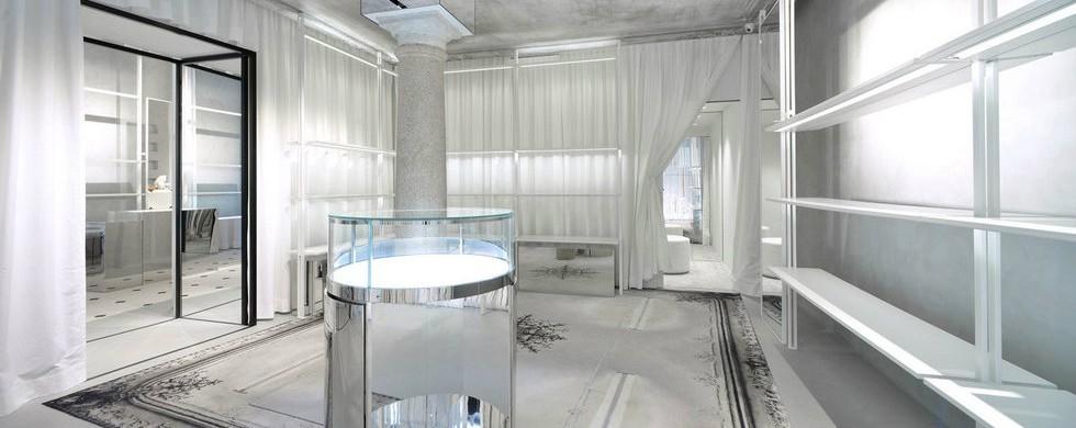 Milan Fashion Boutiques: Maison Margiela draws back the curtain