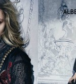 Italian Fashion: Sasha Pivovarova fairy tale in Alberta Ferretti Fall-Winter 2015 ads