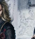 Italian Fashion: Sasha Pivovarova fairy tale in Alberta Ferretti Fall-Winter 2015 ads