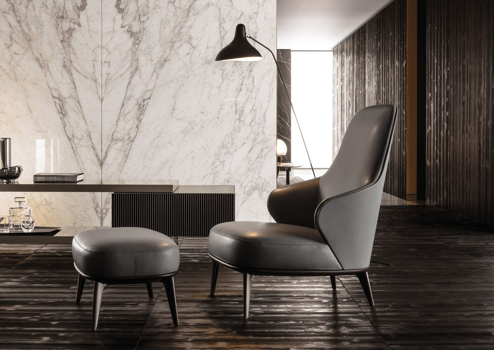Italian Furniture brands ideas Minotti introduces LESLIE, a collection for fancy spaces (5)