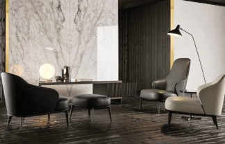 Italian Furniture brands ideas: Minotti introduces LESLIE, a collection for fancy spaces