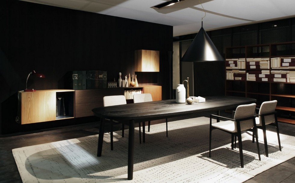 Italian Furniture Brands Ideas New Porros Dining Room Collection 4