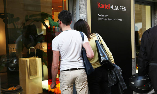 Things to do in Milan: Visit the first KARTELL by LAUFEN store at Brera Design District