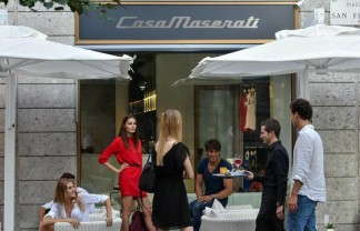 """What to see in Milan: Exclusive """"Casa Maserati"""" retail store and lounge bar"""