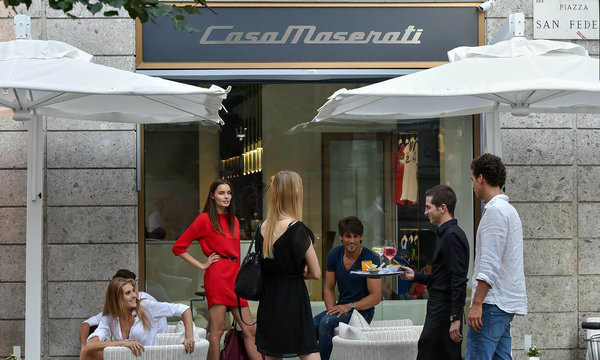 "What to see in Milan: Exclusive ""Casa Maserati"" retail store and lounge bar"