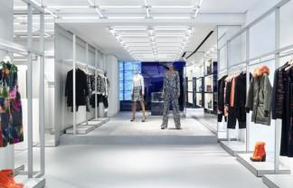 Milan Fashion Boutiques: KENZO at Via Manzoni