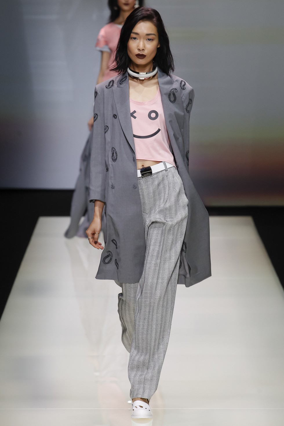 Milan Fashion Week 2016 Spring Summer News Day three best moments-Emporio Armani (2)