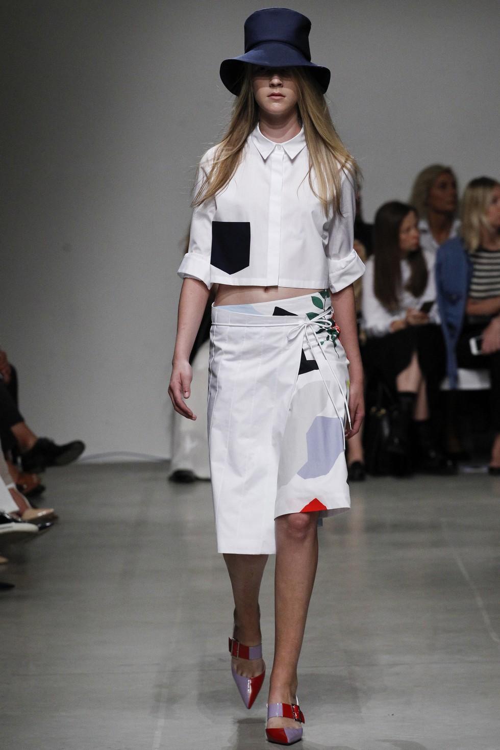 Milan Fashion Week 2016 Spring Summer News Day three best moments-Iceberg (3)