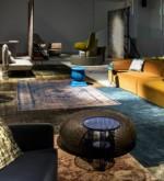 Italian Design collections: Rubelli and Kvadrat for Moroso furniture