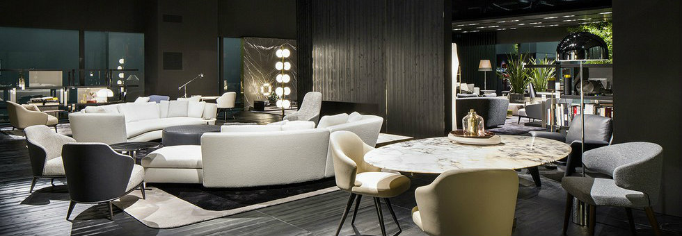 Italian Design Brands at IMM Cologne 2016 - Minotti by Rodolfo Dordoni