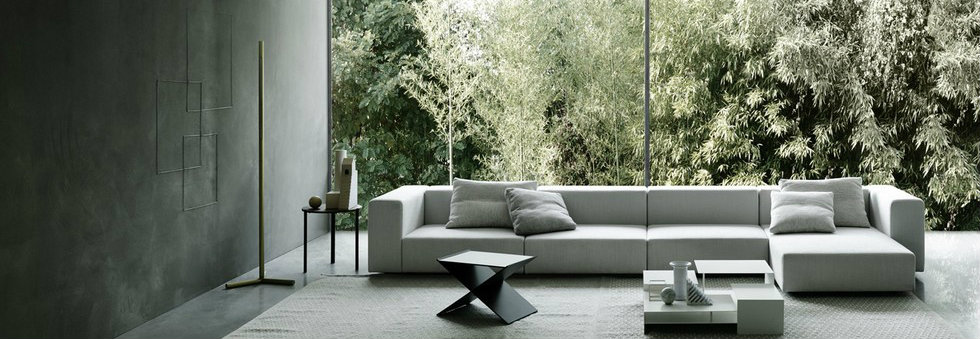 Italian Design Brands at IMM Cologne 2016: Piero Lissoni for Living Divani