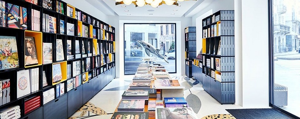 Taschen bookstore in Milan things to do in milan Things to do in Milan Design Week 2016 – 9 must-visit shops Things to do in Milan Design Week 2016     9 must visit shops Taschen 980x390