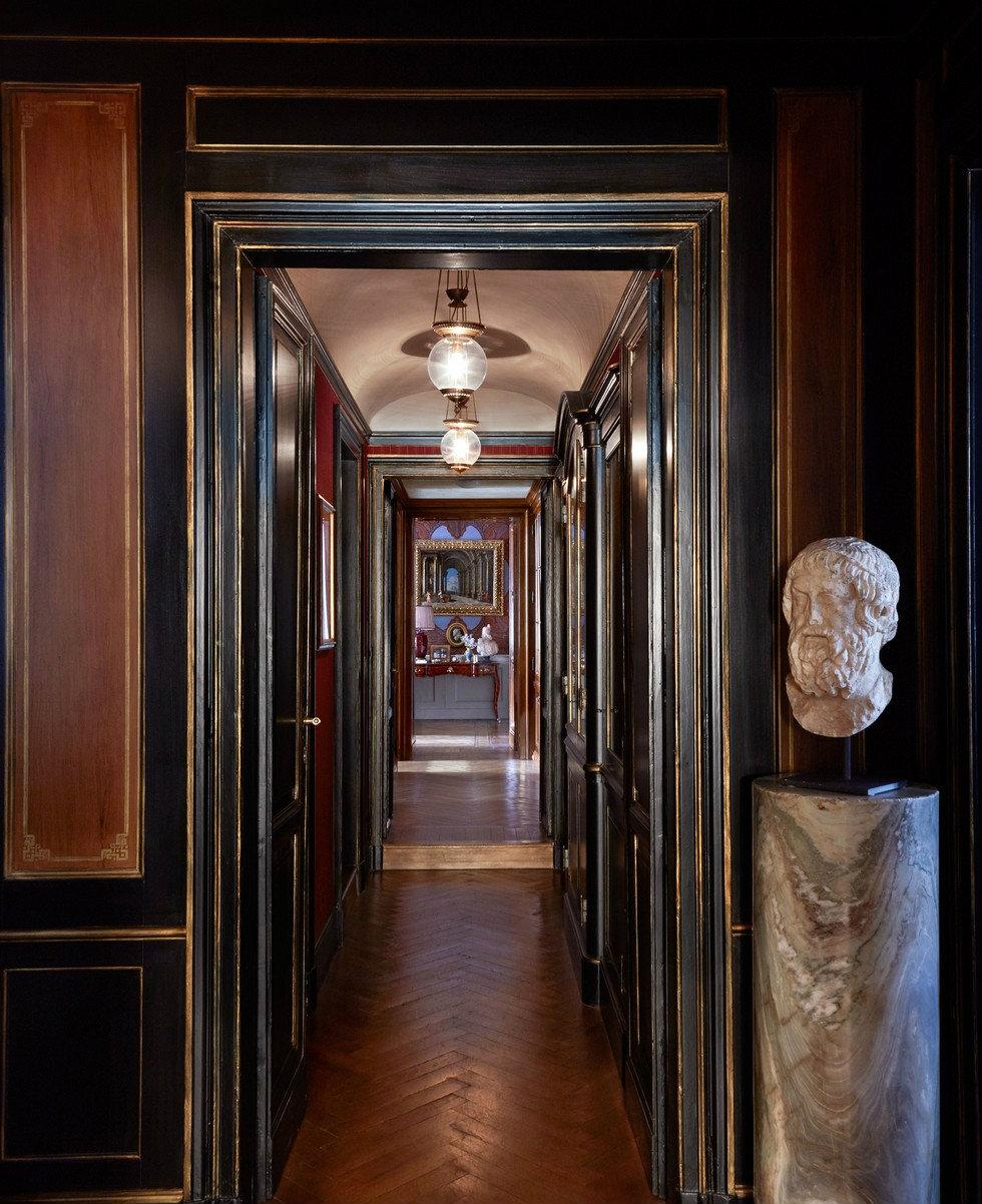 Studio Peregalli hallway decor ideas  famous interior designers Famous interior designers –Studio Peregalli designed a Milan apartment Famous interior designers     Studio Peregalli designed a chicest Milan apartment 11