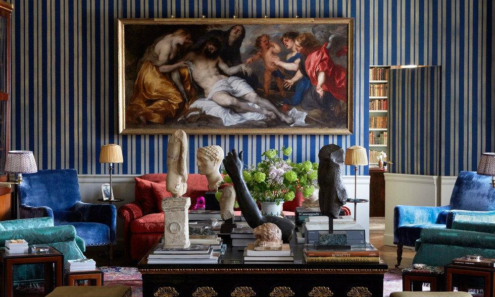 Living room ideas with bespoke sofas in upholstered silk velvet