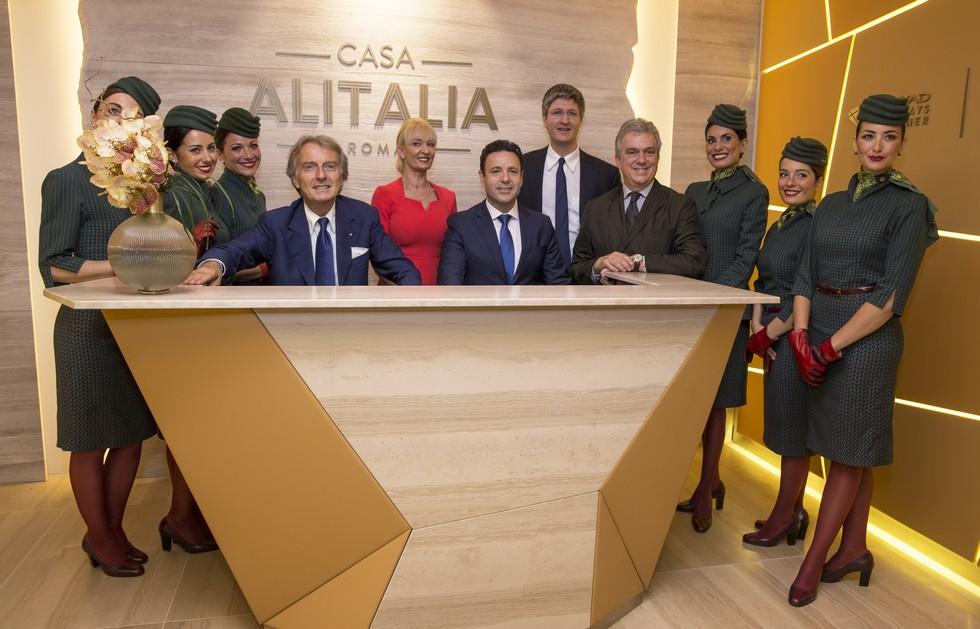 Famous interior designer / architect Marco Piva marco piva Marco Piva designed Casa Alitalia's Malpensa airport lounge Marco Piva designed Casa Italia   s Malpensa airport lounge 3