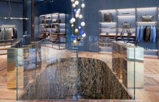 Milan Boutique stores – Ferutdin Zakirov designed by Paolo Lucchetta