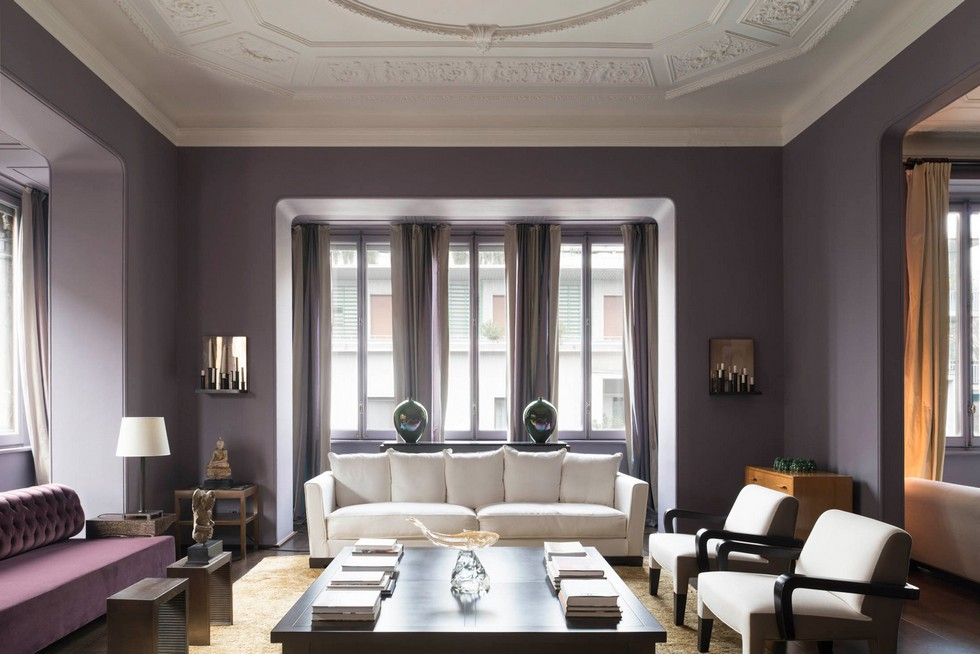 Living Room Decor Ideas With Different Color Sofas Milan Apartment Milan  Apartment Designed By Worldu0027s Most