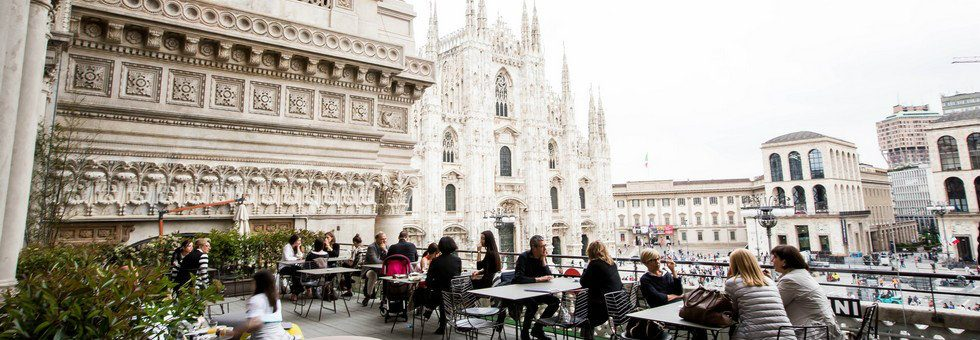 Where to go in Milan – the best wine and dine outdoor places where to go in milan Where to go in Milan – the best wine and dine outdoor places Where to go in Milan     Terrazza Duomo 21 bar 3 980x340