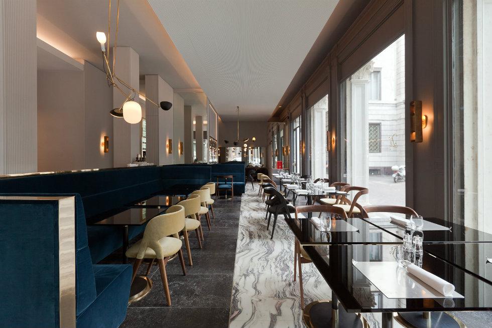 Ta Milano restaurant designed by Vincenzo de Cotiis best milan restaurants Best Milan Restaurants – 5 designer restaurants to not miss Best Milan Restaurants     5 designer restaurants to not miss Ta Milano