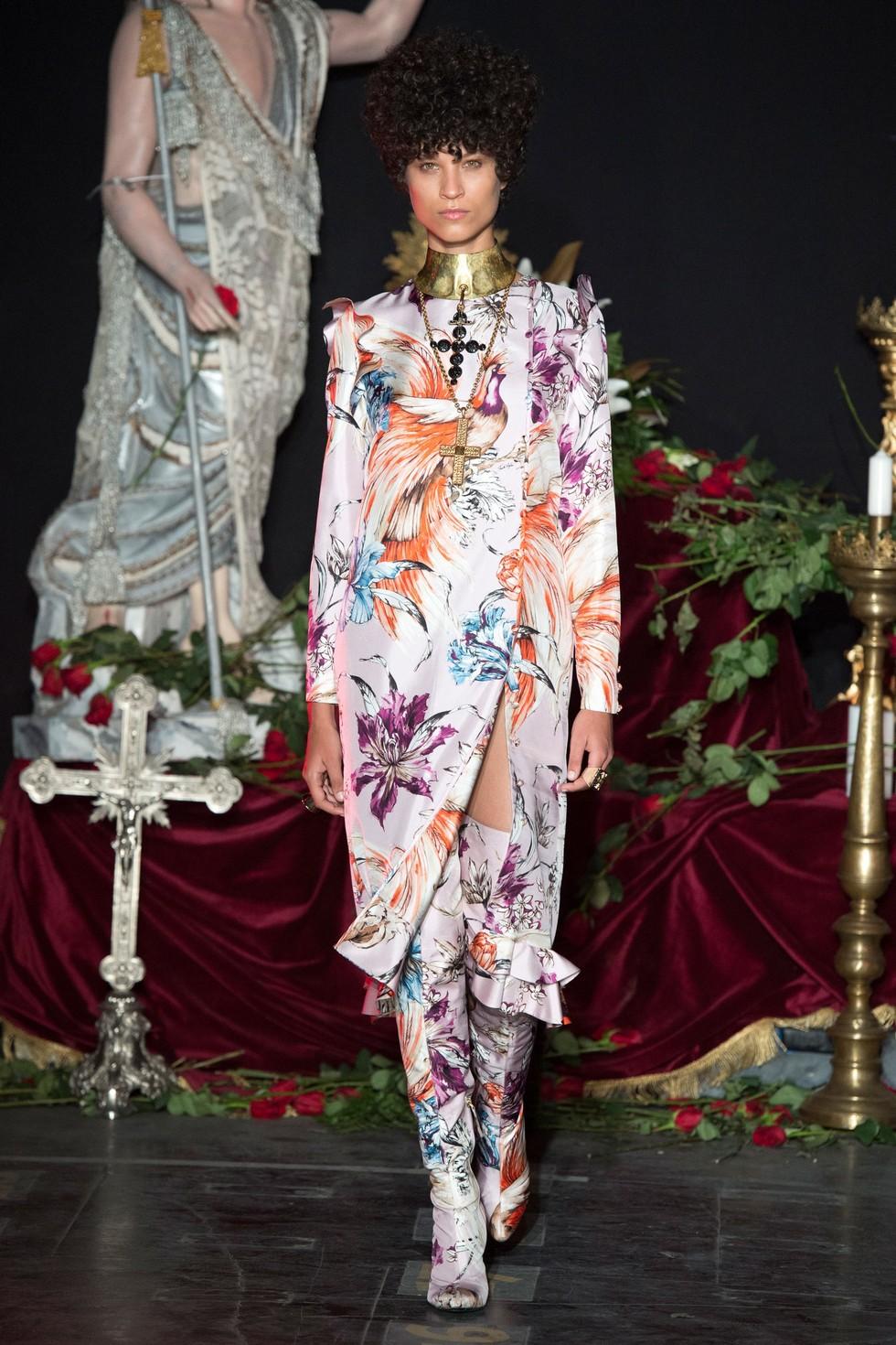 Fausto Puglisi milan fashion spring summer 2017